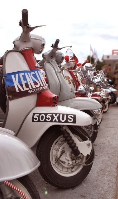 Goodwood Revival Scooters