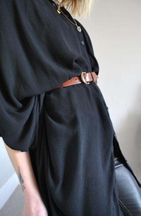 black kaftan