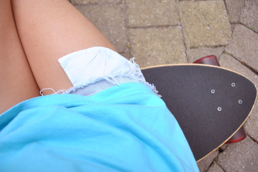 girls long board