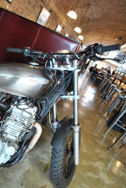 The Bike Shed dinning