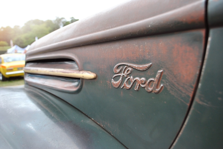 Ford rat rod detail