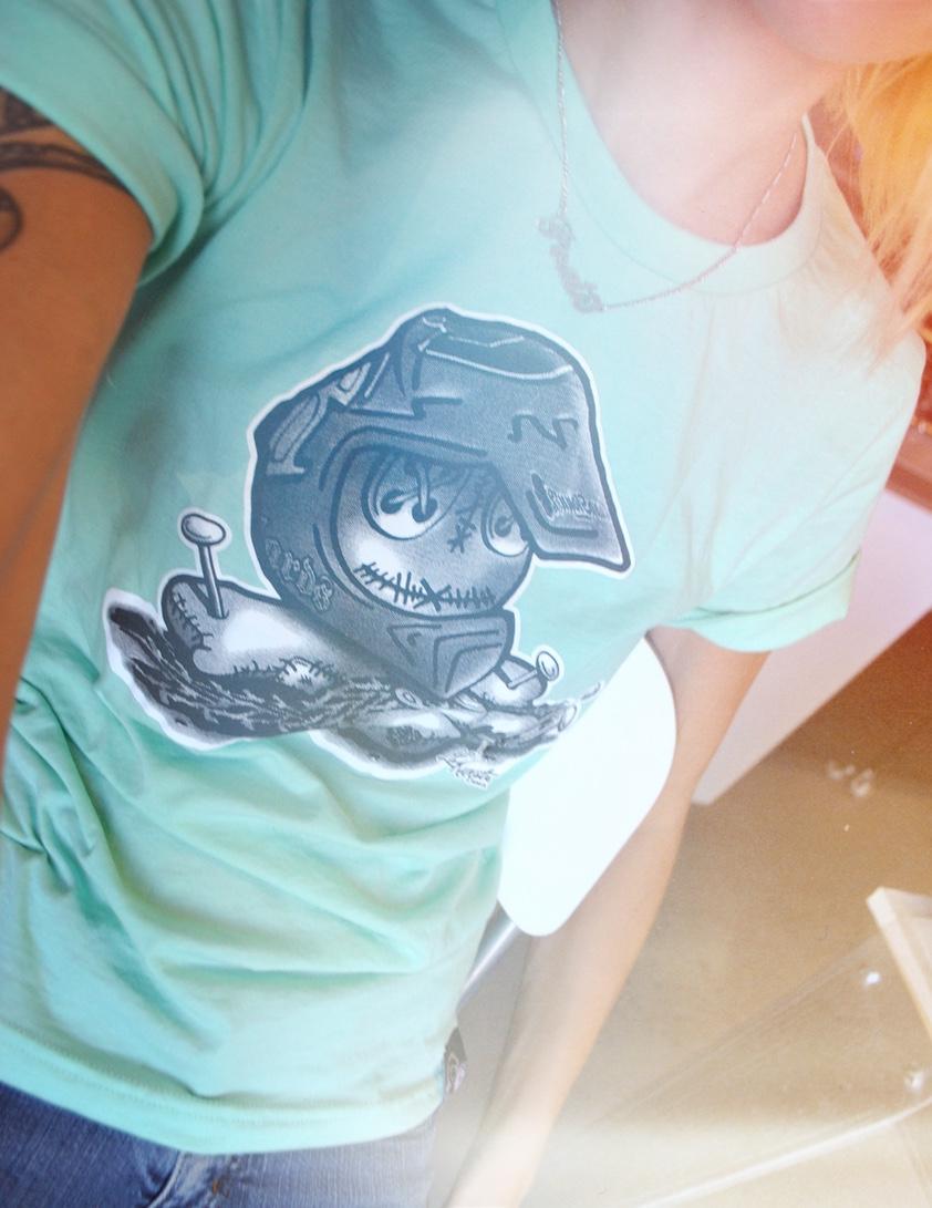 Kunstvoller t-shirt