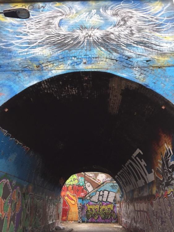 Grafitti-tunnel