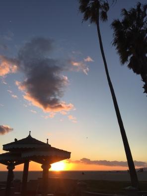 Venice-beach-sunset