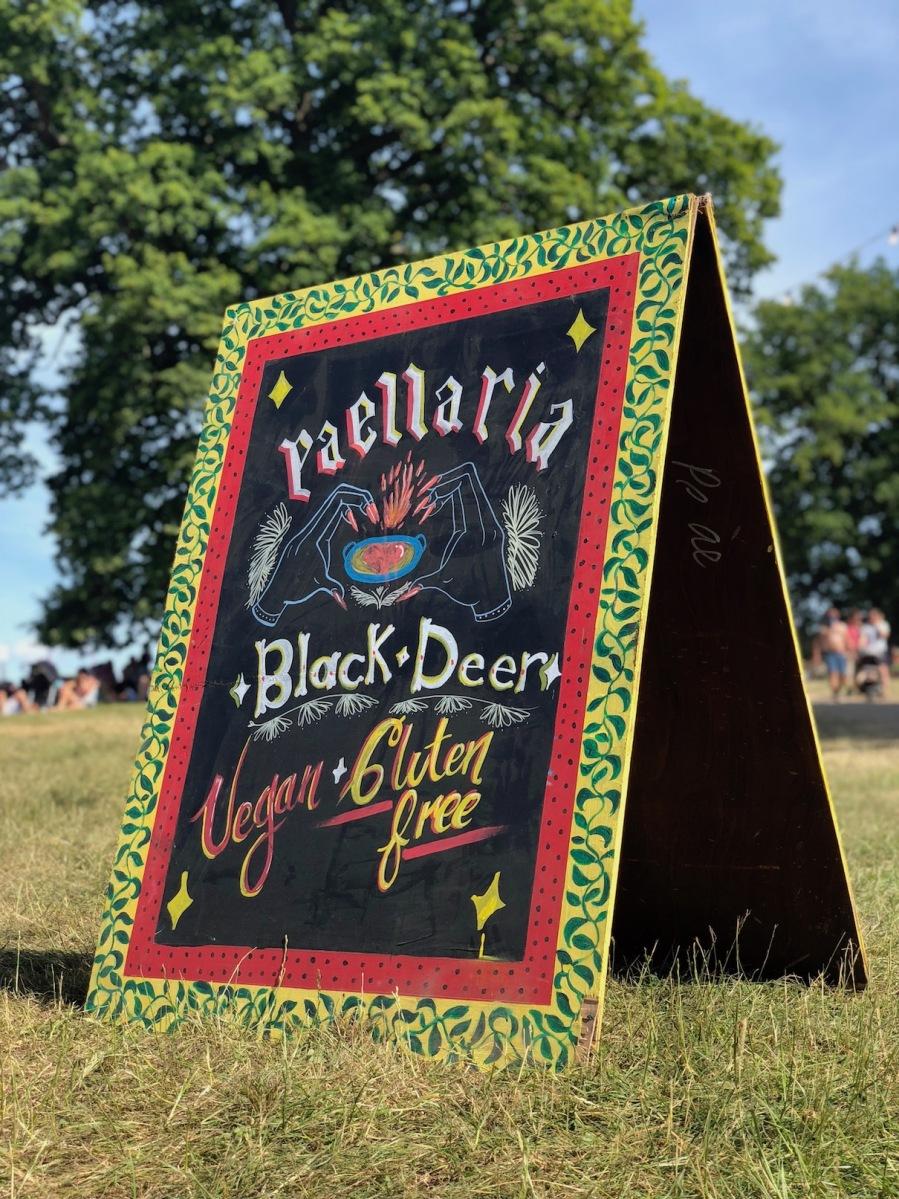 Black-deer-food